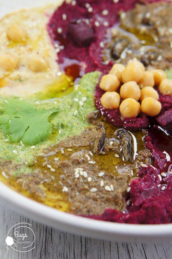Hummus Pinwheel