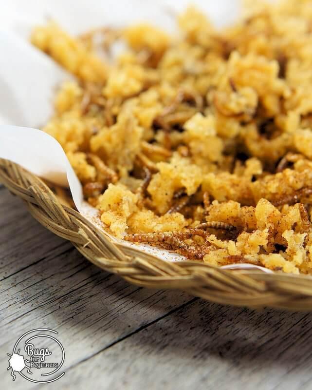 Mealworm Crispy Crumbs
