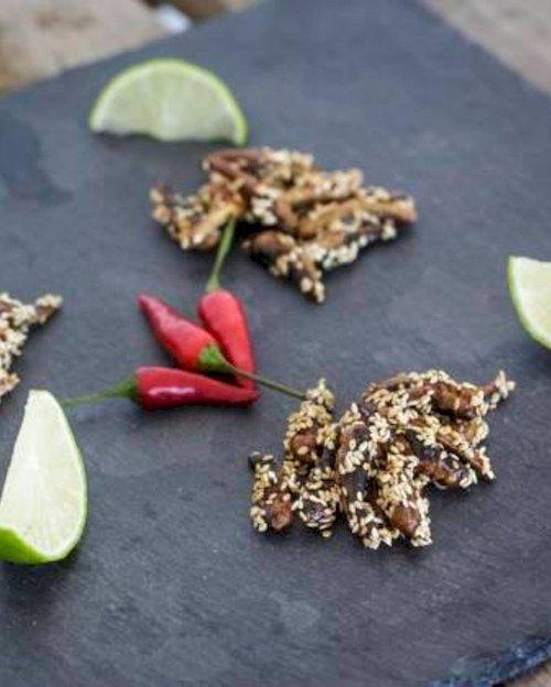 Sesame Lime Grasshoppers