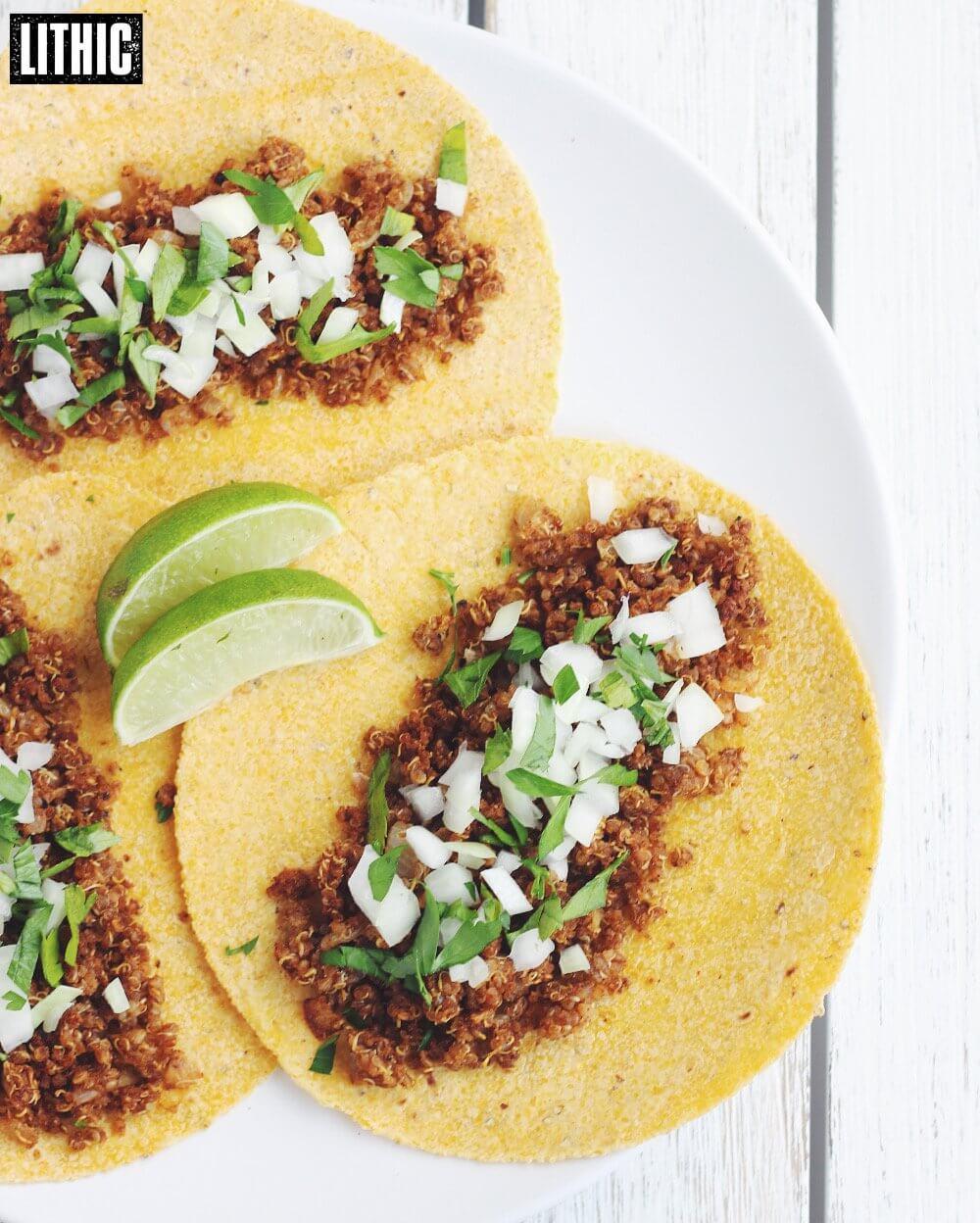 Quinoa Cricket Taco